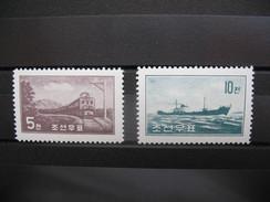 Corée Nord  Année  1959    N° 181 Et 182   2 Val Neufs ** - Corée Du Nord
