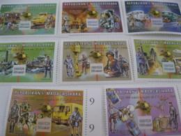 Madagascar-2000-UPU 125th Anniversary 1999-MI.2394-2401 - Madagascar (1960-...)