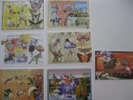 Madagascar-1999-Olympics,butterfly-summer Olympics Sydney 2000-MI.2440-63 - Madagascar (1960-...)