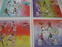 Madagascar-1997-soccer France98-MI.1882-85 - Madagascar (1960-...)