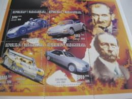 Madagascar-1996-cars,automobile-MI.1863-66 - Madagascar (1960-...)