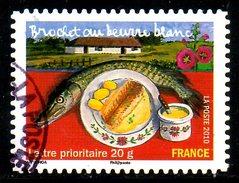 FRANCE. N° A440 De 2010 Oblitéré. Brochet Au Beurre. - Poissons