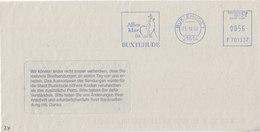 Freistempel / Meter Stamp / EMA , FP , EFS3000, F701537, 21614 Buxtehude, Hase/Igel, Rabbit/Hedgehog, Lièvre/Hérisson - [7] Federal Republic