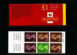 GREAT BRITAIN - 1996  £ 1  BOOKLET   NEW STYLE  1p/20p/26p  MINT NH  SG FH 41 - Libretti