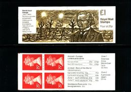 GREAT BRITAIN - 1994  £ 1  BOOKLET  PRIME MINISTERS 2  MINT NH  SG FH 33 - Libretti