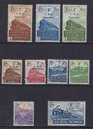 """FR Colis Postaux YT 191 à 199 """" Série Complète : CNS """" 1942 Neuf* - Paketmarken"""