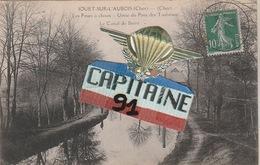 CPA JOUET SUR L AUBOIS CHER LES FOURS A CHAUX USINE DU PONT DES TAUREAUX LE CANAL DU BERRY - France