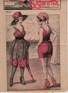 """FIRENZE 11 SETTEMBRE 1921_RIVISTA """" LA SIGARETTA"""" UMORISTICA SETTIMANALE-HUMOR- 8 PAGINE ORIGINALI - Salute E Bellezza"""