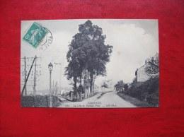 Carte Postale Ancienne D'Essonnes: La Côte Du Pressoir-Pont - Corbeil Essonnes