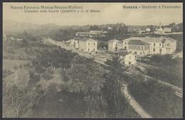 FERROVIA BRIANZA CENTRALE (Monza Besana Molteno) - Stazione Di Besana / Centenario 2007 - Stazioni Senza Treni