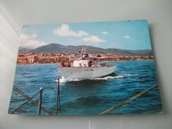 NAVE SHIP  CITTA' DI FINALE BATTELLO LOANO LIGURIA - Chiatte, Barconi