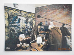 Postcard Le Creusois Monks Making Nut Cake My Ref B21935 - Trade