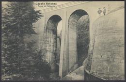 FERROVIA BRIANZA CENTRALE (Monza Besana Molteno) - Carate Ponte Di Orlanda / Centenario 2007 - Ferrovie