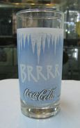 AC - COCA COLA BRRRR GLASS FROM TURKEY - Mugs & Glasses