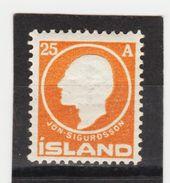 MAG1402  ISLAND 1911  Michl 68 ** Postfrisch Siehe ABBILDUNG - 1873-1918 Dänische Abhängigkeit