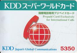 JAPAN - KDD Prepaid Card Y5350, Exp.date 30/09/00, Used - Japan