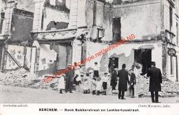Berchem - Hoek Bakkerstraat En Lambertusstraat - Antwerpen Anvers - Antwerpen