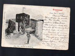 Transvaal (afrique Du Sud) Vieux Fort à Mafeking 1901...postée à ...Lille   (PPP6030) - Afrique Du Sud