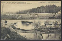 FERROVIA BRIANZA CENTRALE (Monza Besana Molteno) - Peregallo Ponte Del Molinetto / Centenario 2007 - Ferrovie