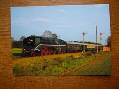 Trains Europe De L'est , Locomotive 18 201 - Trains