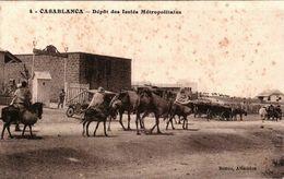 CASABLANCA - Dépôt Des Isolés Métropolitains - Casablanca