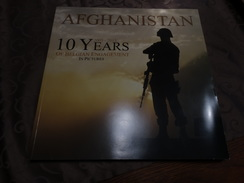 Afghanistan-10 Years Of Belgian Engagements In Pictures- Photos - Books