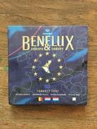 M/MS49 EUROSET BENELUX 2007 24 Pièces + 1 Médaille (Valeur 65 Euro !!) - Belgique