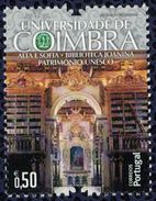 Portugal 2014 Université De Coimbra Alta E Sofia Bibliothèque Joanina Patrimoine Unesco - 1910 - ... Repubblica