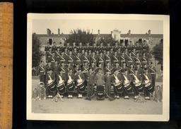 Photographie Originale : Musique Militaire Groupe De Soldats Musiciens Du 15 Eme Régiment Génie De L'Air TOUL Thouvenot - Krieg, Militär