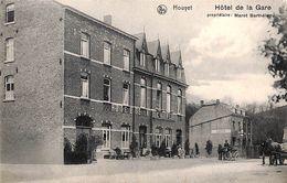 Houyet - Hôtel De La Gare (animée, Attelage, 1910) - Houyet