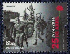 Portugal 2014 Révolution Des Œillets 25 De Abril Avril - 1910 - ... Repubblica
