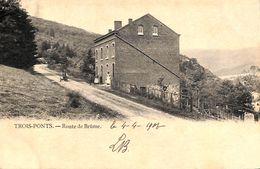 Trois-Ponts - Route De Brüme (animée, Précurseur) - Trois-Ponts