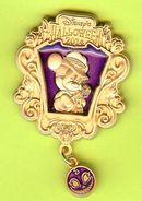 Pin's BD Disney Halloween Mickey - 10H20 - Disney