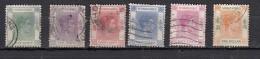 Hong Kong  George VI  6 Valeurs - Unused Stamps