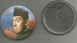 No Pins  Badge Maxi  (7.5cm)   Don Camillo Fernandel - Cinema