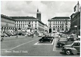 ITALIE : TORINO - PIAZZA S. CARLO - Plaatsen & Squares