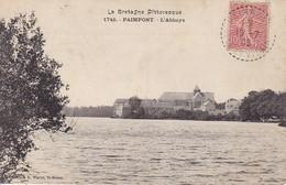 CPA Paimpont - L'Abbaye - 1905 (30489) - Paimpont