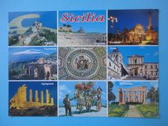 Sicilia - Vedute - Tindari Siracusa Catania Taormina Piazza Armerina Noto Selinunte Agrigento Carretto Siciliano - Sin Clasificación