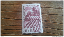 LOT 238432 TIMBRE DE FRANCE NEUF**  N°823 LUXE FEUILLE - Unused Stamps