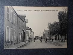 Cpa 45 Engenville L'épicerie Beauvallet  Et Grande Rue - France