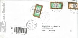 Italia  2008 Busta  Viaggiata  Italia Con Bolli Racc.. See Scan - 6. 1946-.. Repubblica