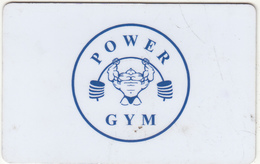 ARMENIA - Power Gym, Magnetic Member Card, Used - Autres Collections