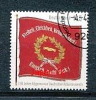 GERMANY  Mi.Nr. 2997 150 Jahre Allgemeiner Deutscher Arbeiterverein- Used - BRD