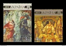 Ukraine 2013 Mih. 1316/17 Heroes Of Taras Shevchenko In Paintings MNH ** - Ukraine