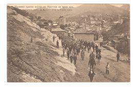 Kratovo - Départ De L'armée Serbe De Kratovo Pour La Pointe Noire - Balkan War - Macédoine