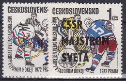 ** Tchécoslovaquie 1972 Mi 2084-5 (Yv 1917-8), (MNH) - Nuevos