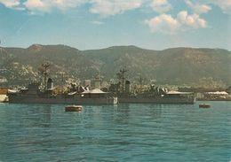 CPA-1965-83-TOULON-MARINE NATIONALE-ESCORTEURS F774 L AGENAIS-F 765 Le NORMAND A QUAI-Démoli An 1980-BE-Pt Pli En Haut G - Guerre
