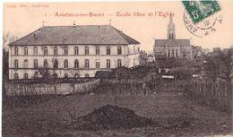 Ambérieu En Bugey L'école Libre Et L'église - France