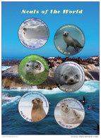 Palau 2017 Animals, Fauna And Flora, Marine Life Seals -I70109 - Marine Life
