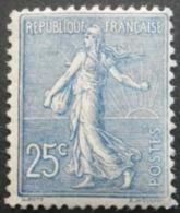 FRANCE Type Semeuse Lignée N°132 Neuf ** - 1903-60 Säerin, Untergrund Schraffiert